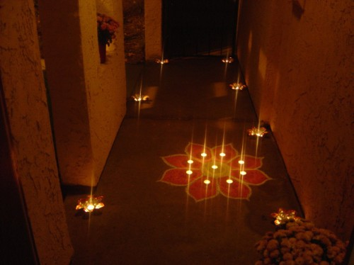 Diwali decoration ideas and tips flickr photo sharing for Indoor diwali decoration