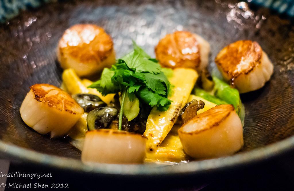 Sake Restaurant miso scallops