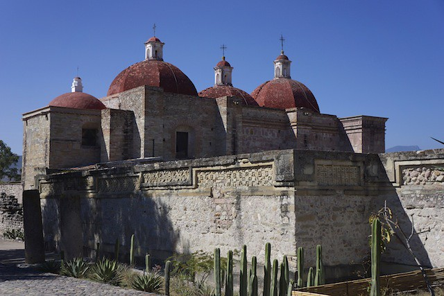 Mitla cathedral