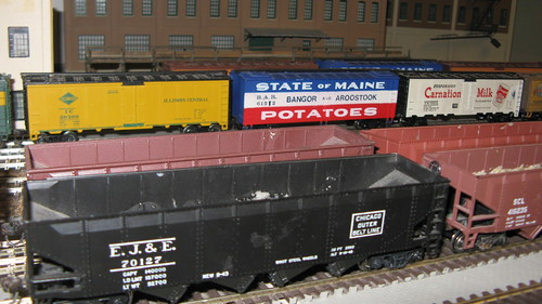 Classic American freight train cars of the 20th Century. by Eddie from Chicago