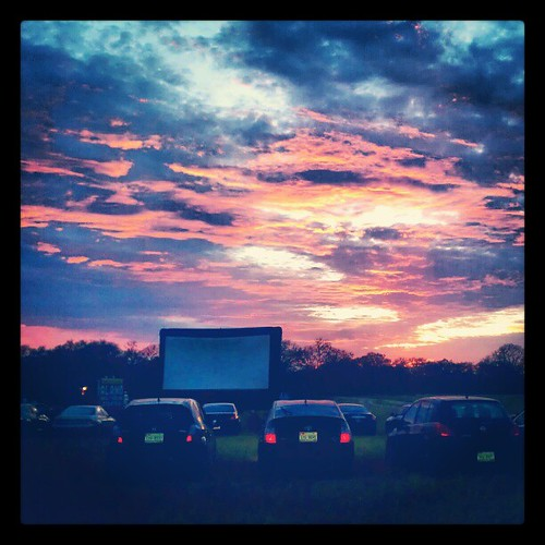 sunset movie square texas drivein squareformat walden android alamodrafthouse utley legendofbilliejean franklinbbq alamodrafthouserollingroadshow instagramapp uploaded:by=instagram foursquare:venue=4ba780e7f964a520af9839e3