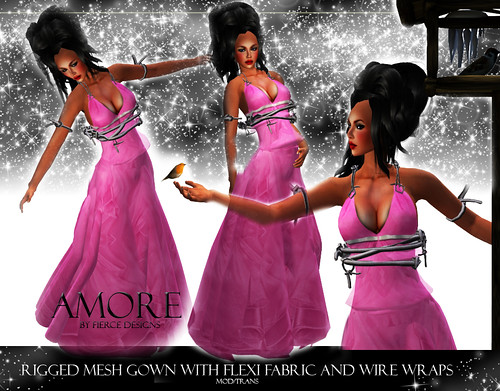 Amore in Pink by Fierce Designs