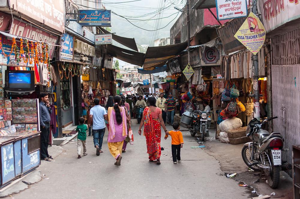 Street in Rishikesh