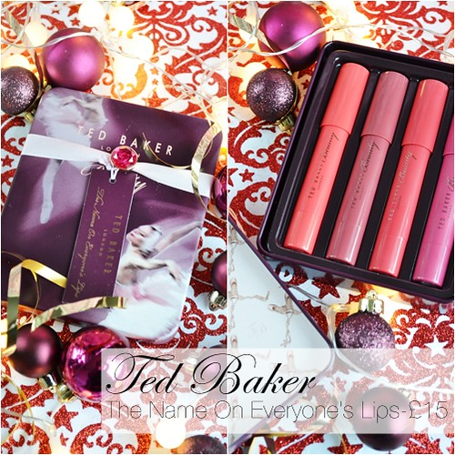Ted Baker Lip Crayon Set Boots