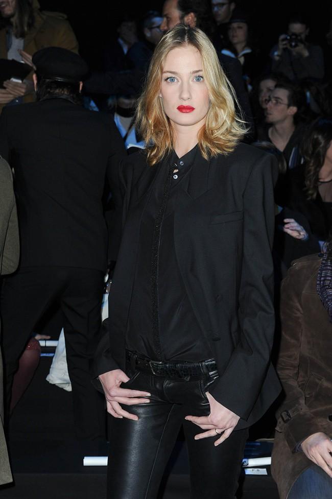 3 Eva Riccobono @ Roberto Cavalli Menswear AW1213 fashion show 14-01-2011 Milan