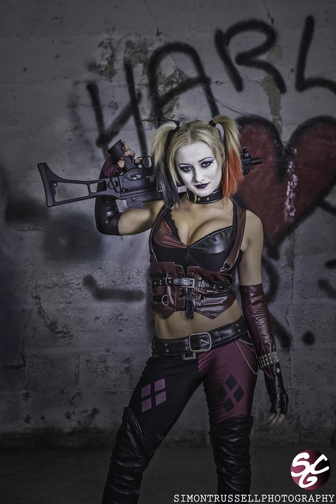 Rebecca Greening as Harley Quinn