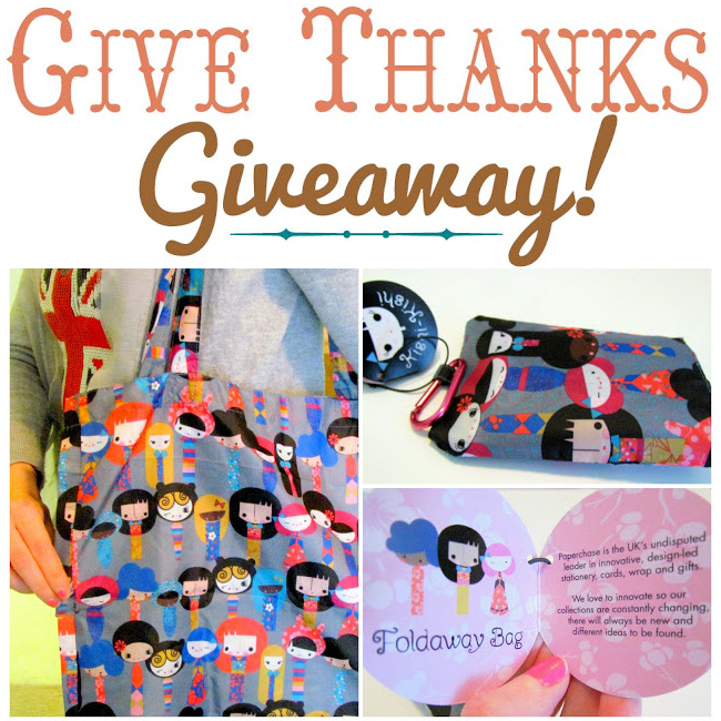 Reusable Bag Giveaway collage