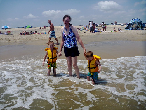 Assateague May 2012 Me and boys