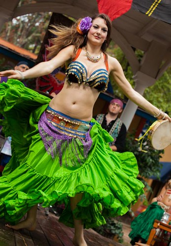 zara belly dancer gypsy dance theater