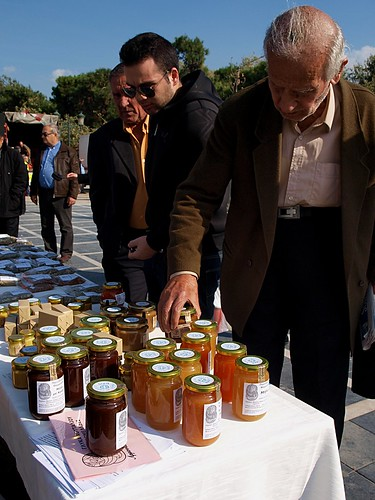 Greek farmers cut out the middleman and start selling direct to consumers. by Teacher Dude's BBQ