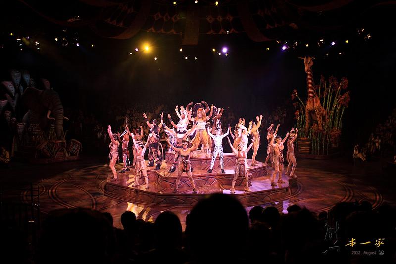 探險世界之獅子王慶典歌舞劇