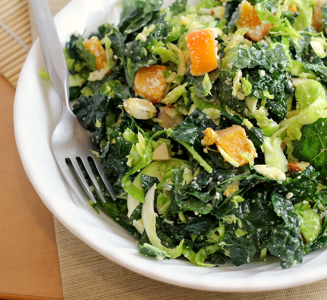 86 Responses to Kale and Brussels Sprout Salad with Butternut Squash ...