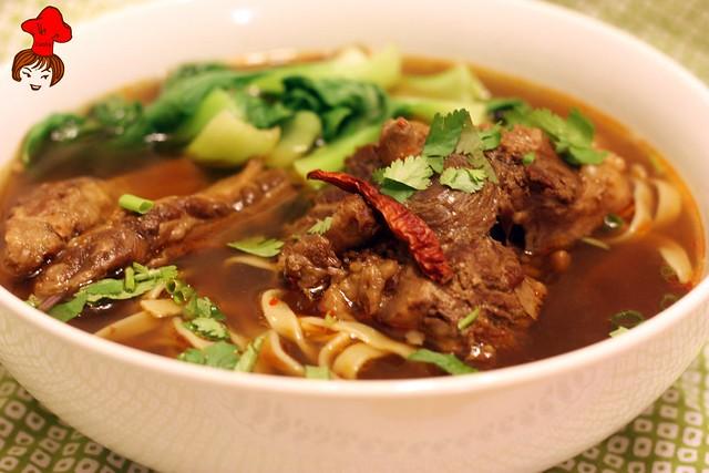 凱西小館牛肉麵 Taiwanese Noodle Soup 2