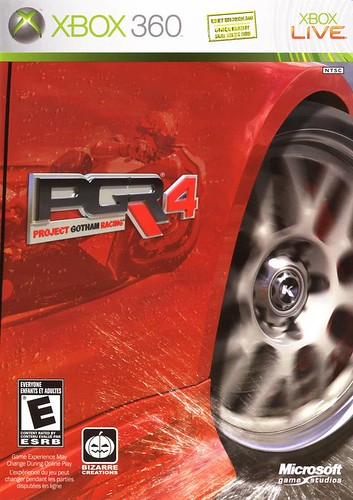 Project Gotham Racing 4 Xbox 360 Boxart
