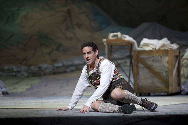 Juan Diego Flórez in La fille du régiment © Bill Cooper