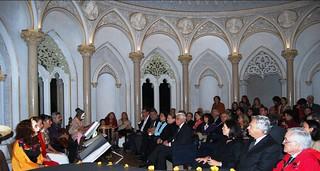 Asistencia a la celebración del Día de Muertos en el Palacio de Monserrate 2