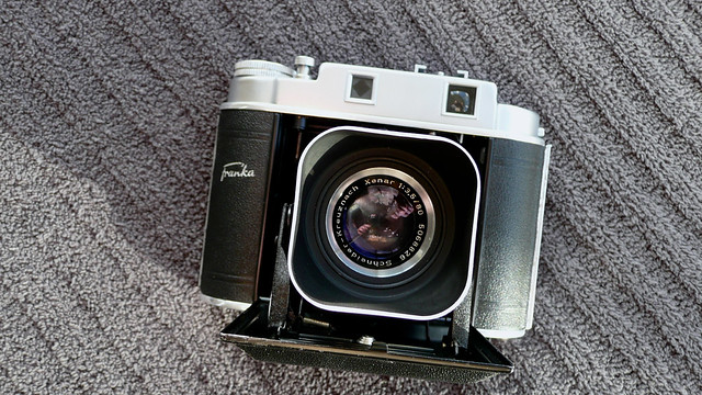 Franka Solida llE with Original Lens Hood