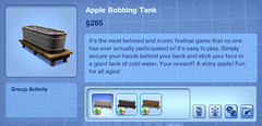 Apple Bobbing Tank