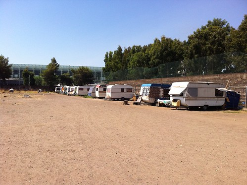 Fontanarossa, sgomberato campo Rom