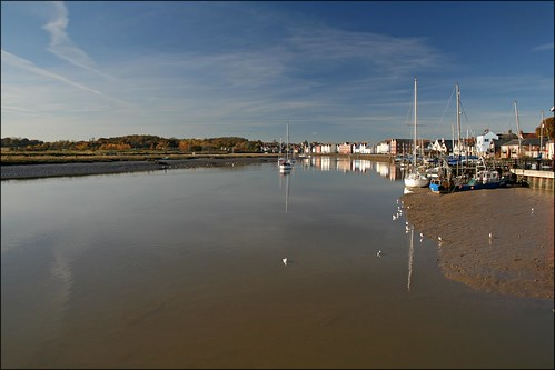 The River Clone at Wivenhoe