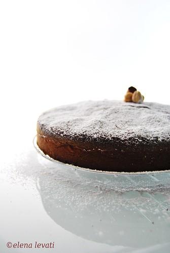Pumpkin&hazelnuts cake