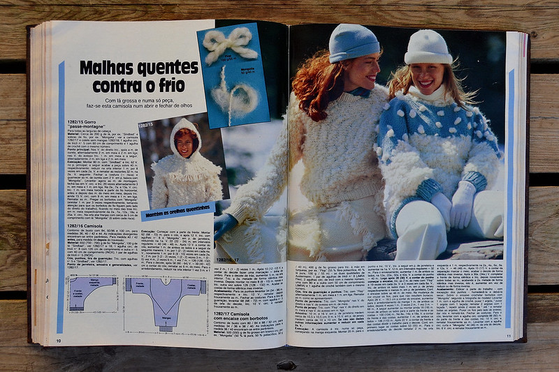 Revista Modes et Travaux | Tricots ⎨1984 ⎬