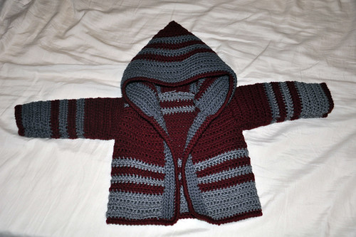 Gilet à capuche - Crochet