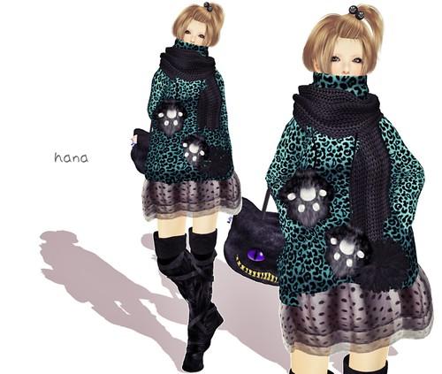 Volume knit②