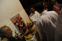 Mr Raj Purohit Offers Sharaddanjali To Shree Balasaheb Thackeray on Chhath Puja Juhu by firoze shakir photographerno1