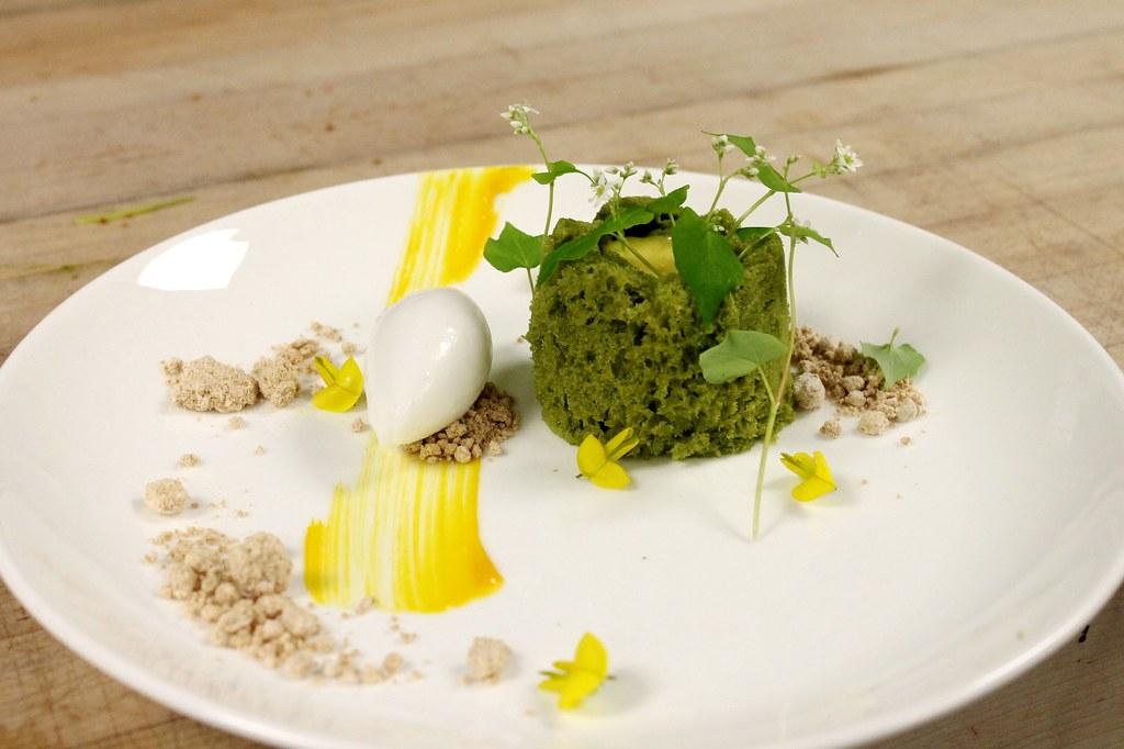 Microwave Cake Recipes Lemon: Microwave Pistachio Sponge Cake, Lemon Cremeux, Greek Yogu