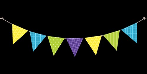 Bunting---Dots-and-Stripes---Rainbow---2
