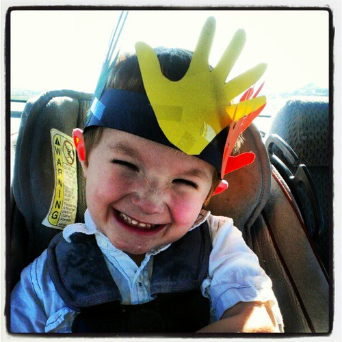 Thanksgiving turkey crown on our way for the feast!