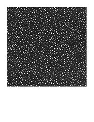 7x7 inch SQ  Snow Dot Midnight paper LARGE SCALE