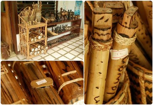 Souvenirs at the National Museum Quezon, Palawan Branch