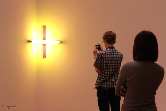 People responding to art at moma 5
