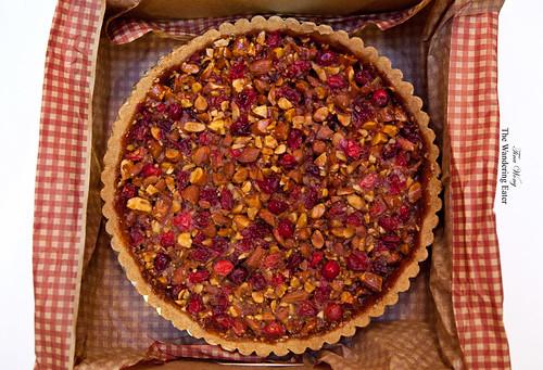 9-inch Cranberry Almond Tart