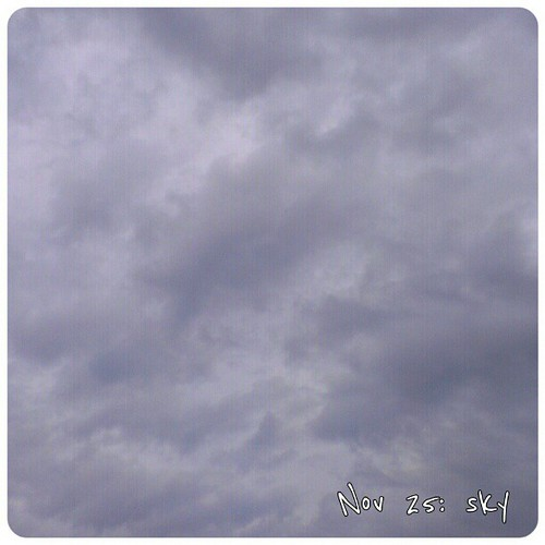 Nov 25: sky - taking this picture I was surprised to see what's all dull and grey from inside is actually really beautiful outside #sky #fmsphotoaday #Berlin #beautiful #grey