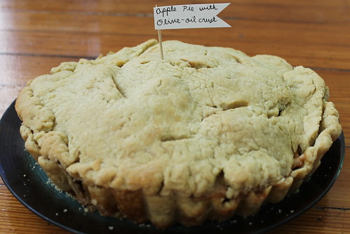 Apple Pie with Olive Oil Crust