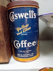 Caswell's Coffee Tin