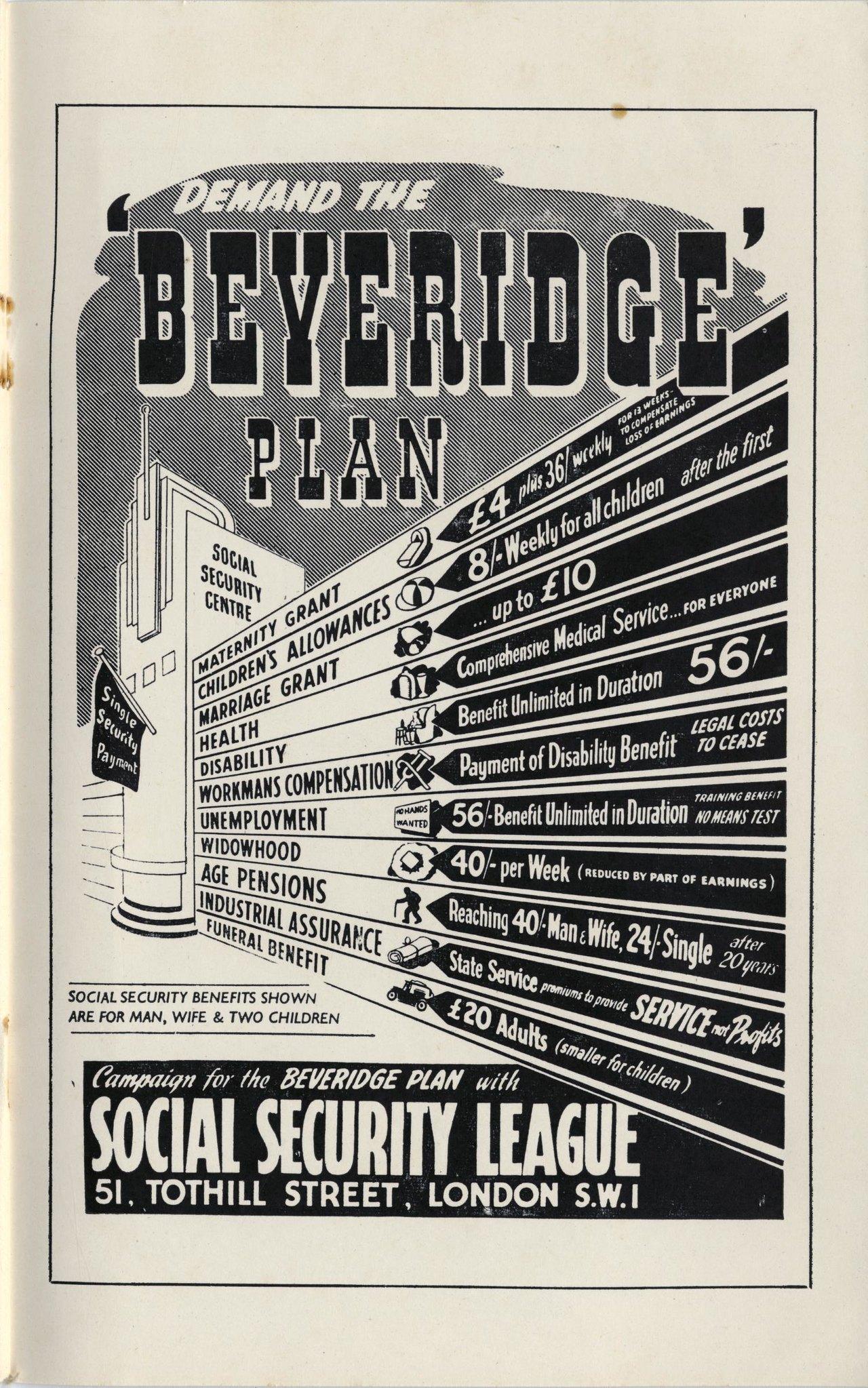 """Demand the Beveridge Plan"", 1944"