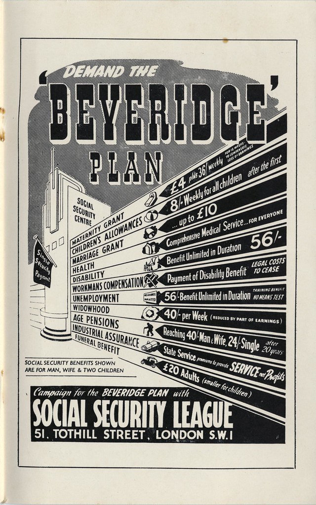 Demand the Beveridge Plan, 1944
