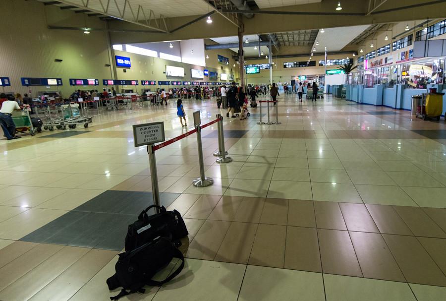 аэропорт LCCT внутри