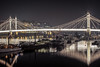 Albert Bridge and Moorings by Darren Pettit