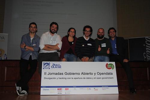 Opendatasev II - Organización