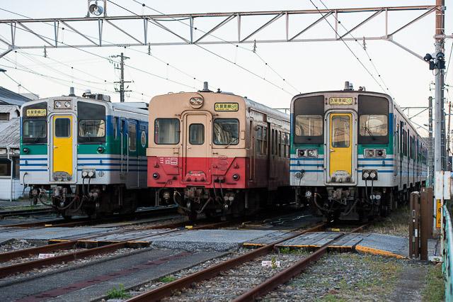 JR東日本久留里線 キハ37・キハ30・キハ38