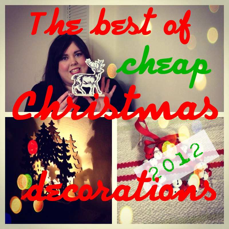 The best of cheap Christmas decorations
