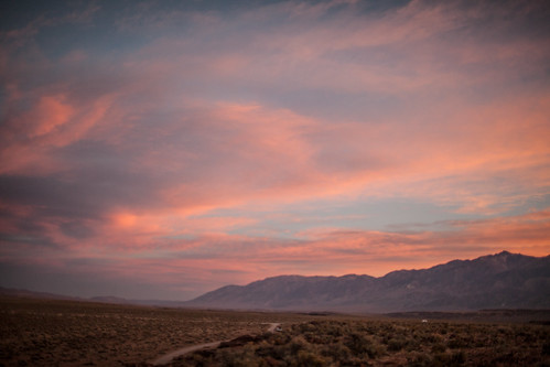 california sunrise sierras eastern volcanic bishop tablelands