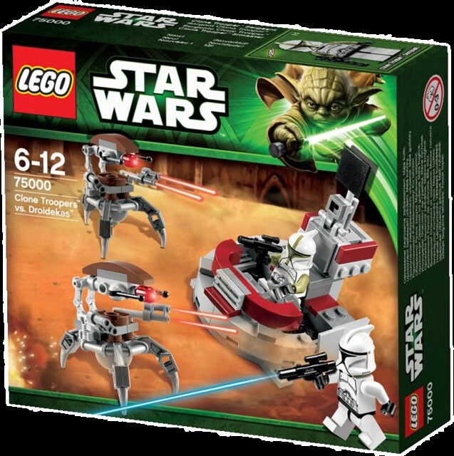 LEGO Star Wars 75000 - Clone Troopers vs. Droidekas - Battle Pack