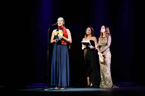 Kellee Santiago recogida premio