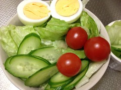 朝食サラダ 2012/11/29